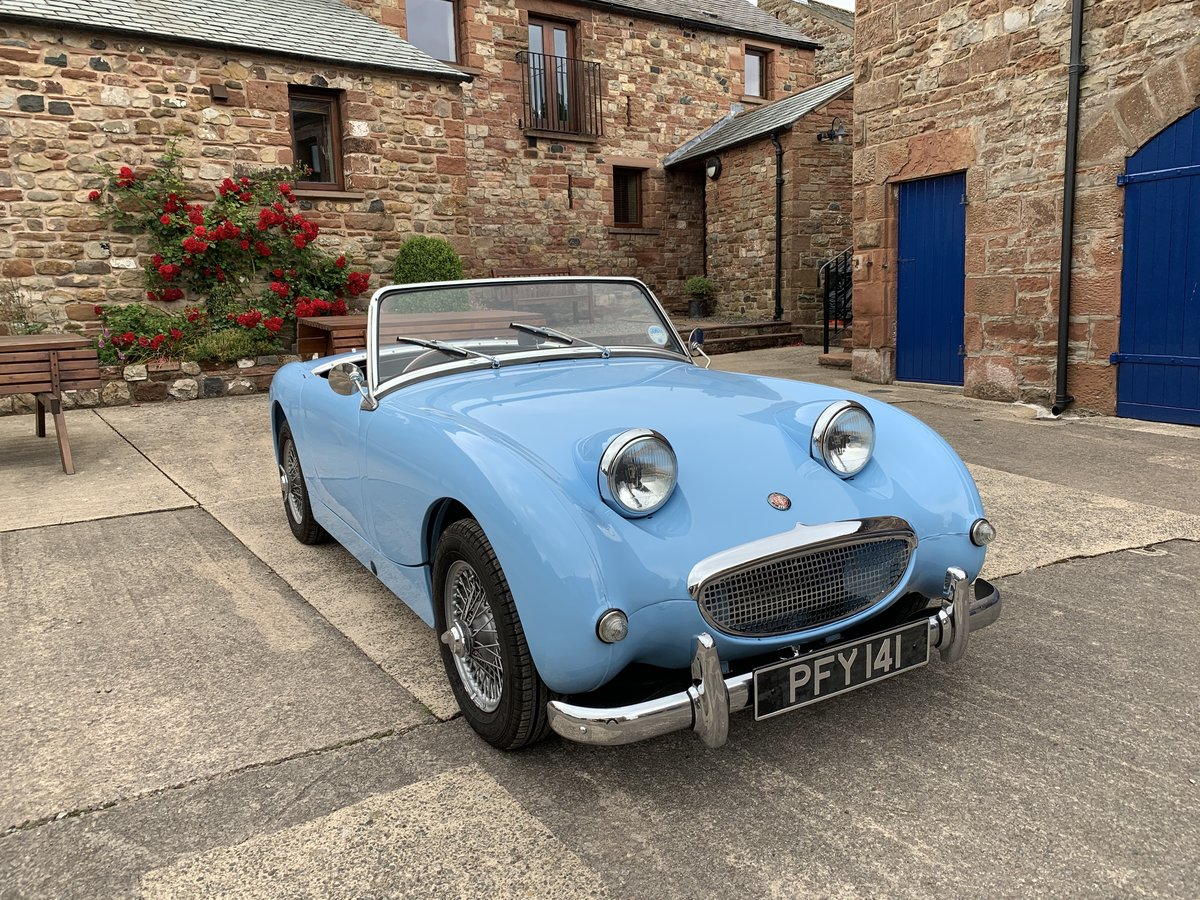 1958 Austin Healey Sprite MK1 (Frogeye) Now sold SOLD (picture 1 of 6)