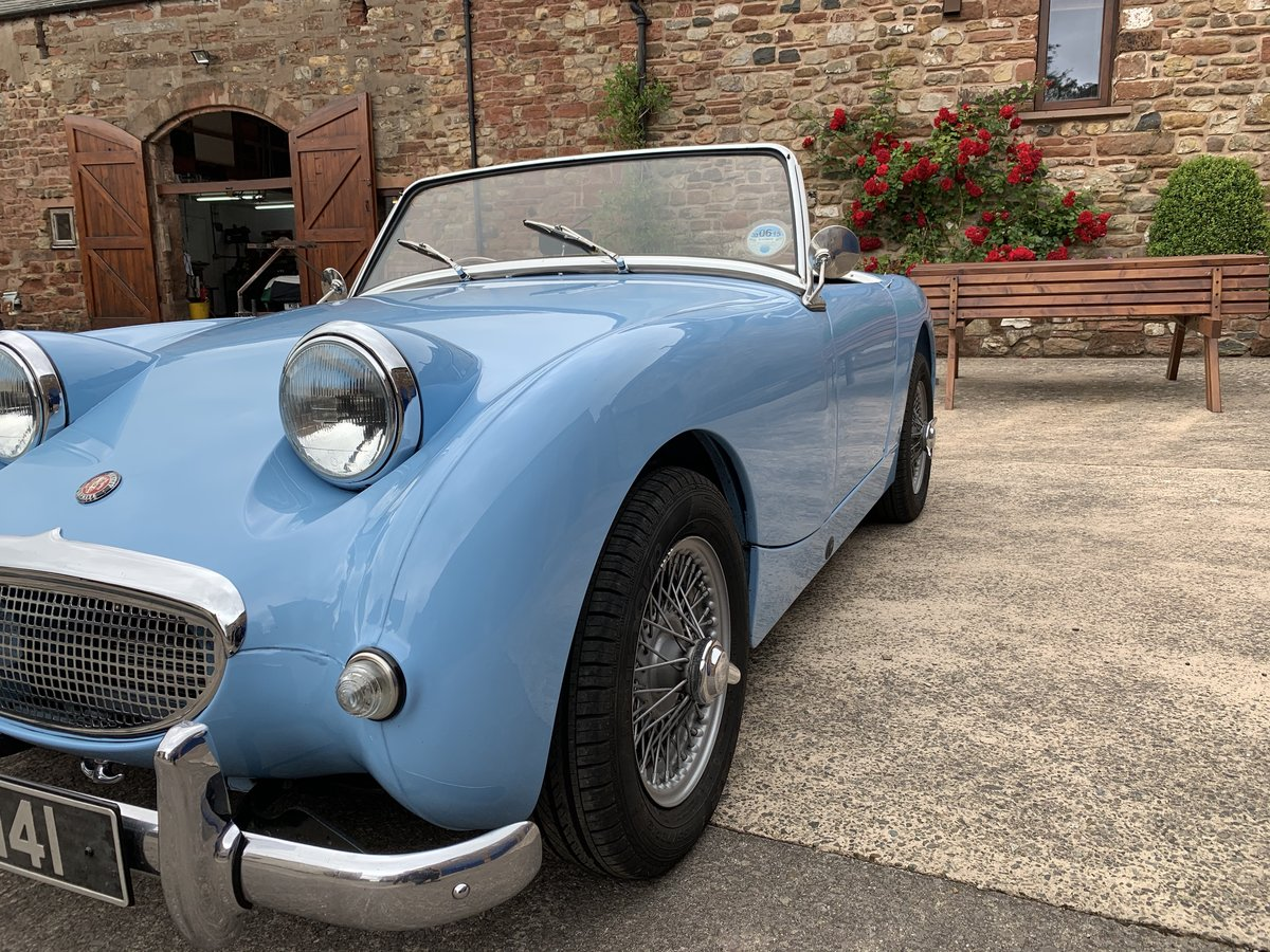 1958 Austin Healey Sprite MK1 (Frogeye) Now sold SOLD (picture 5 of 6)