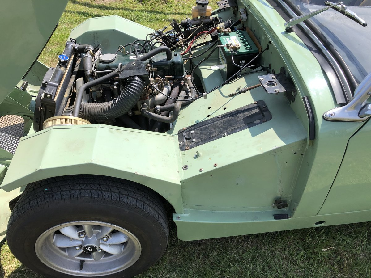 1958 Austin Healey Sprite Mk1 RESTOMOD For Sale (picture 4 of 6)