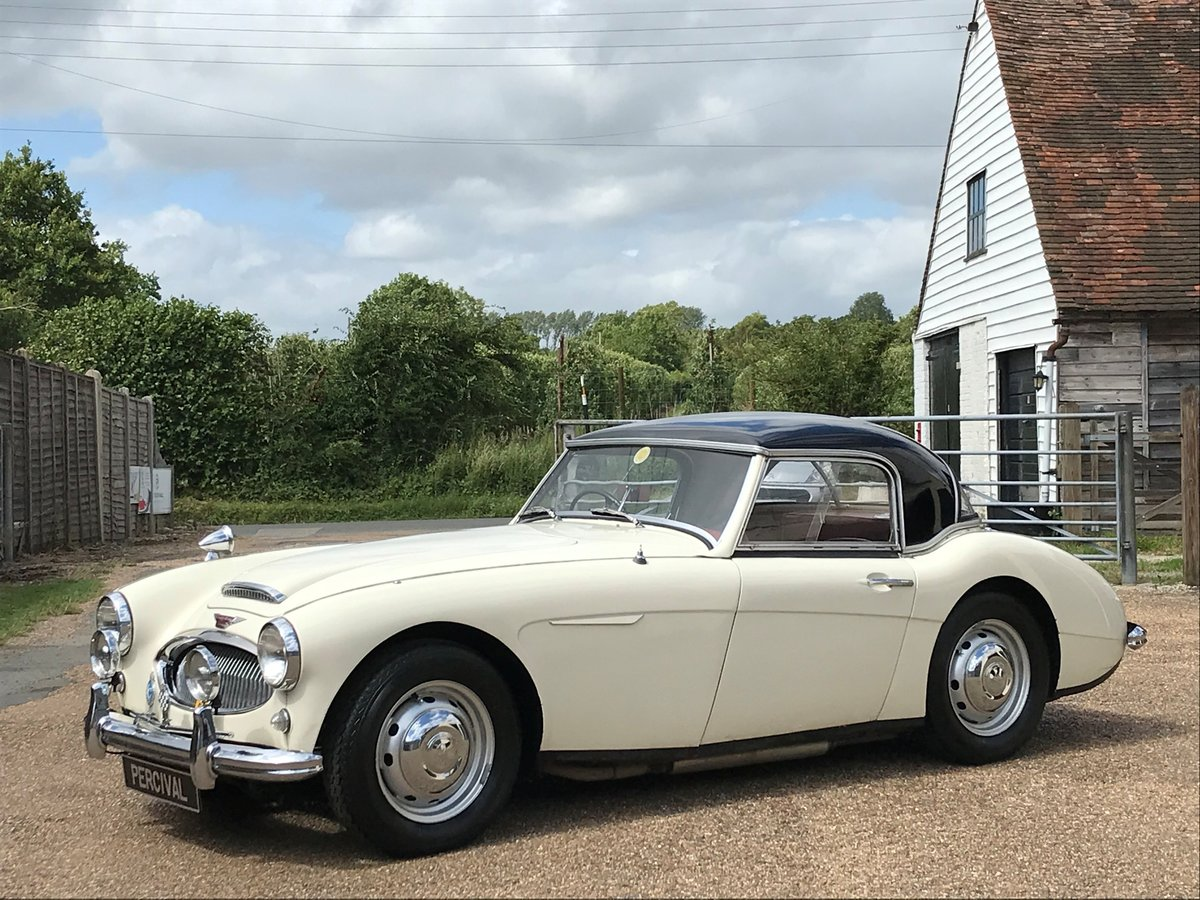1959 Austin Healey 3000 Mk1, 37,000 miles from new, SOLD For Sale (picture 1 of 6)