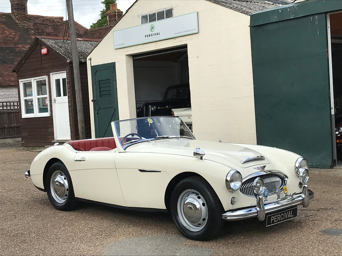 1959 Austin Healey 3000 Mk1, 37,000 miles from new, SOLD For Sale (picture 6 of 6)