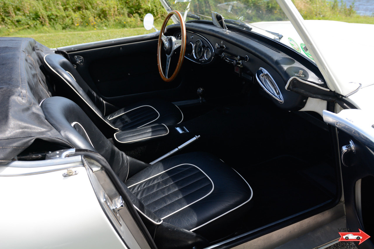 1960 Austin Healey 3000 - very well prepared, comes with hardtop For Sale (picture 5 of 6)