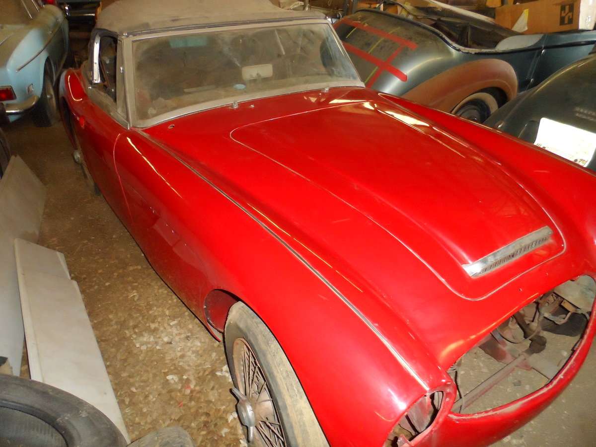 1963 Austin Healey 3000 repainted rust free car For Sale (picture 1 of 6)