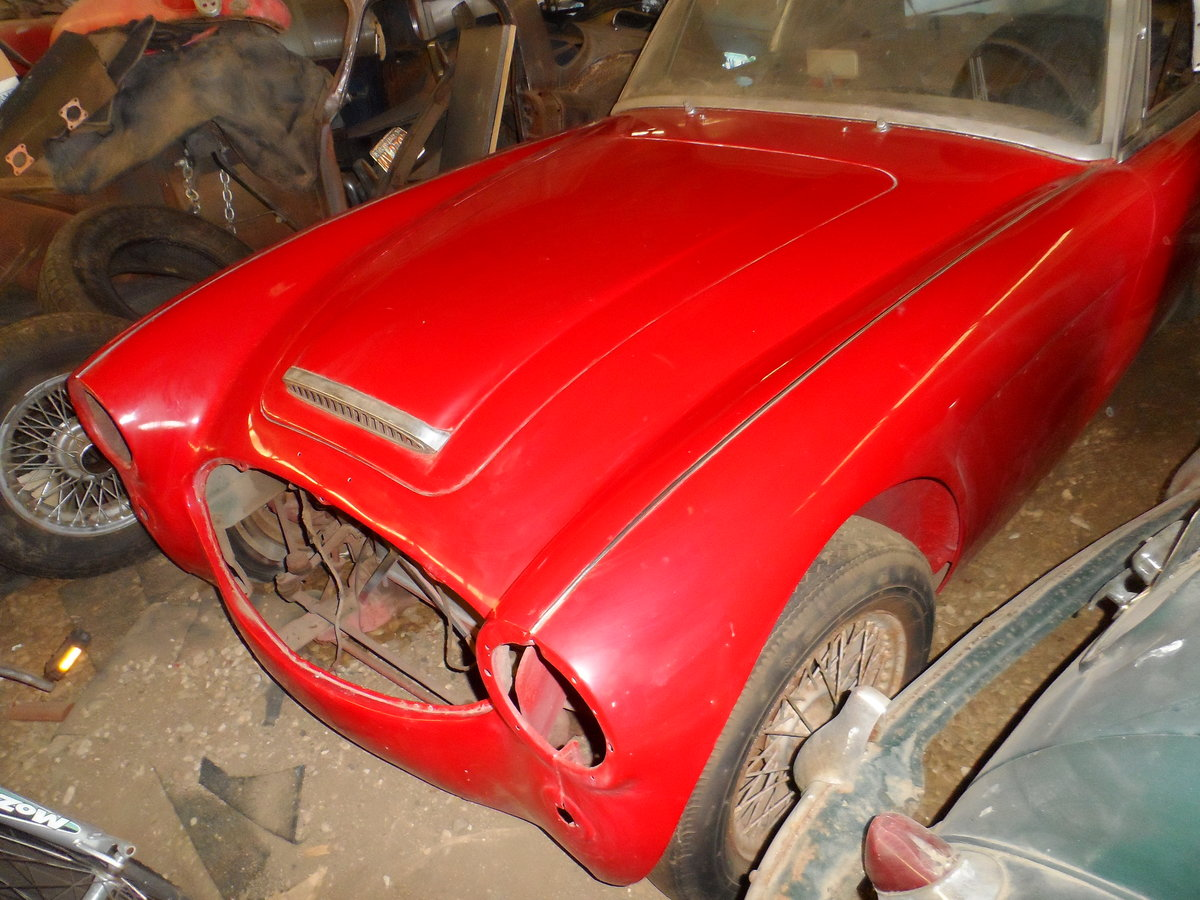 1963 Austin Healey 3000 repainted rust free car For Sale (picture 3 of 6)