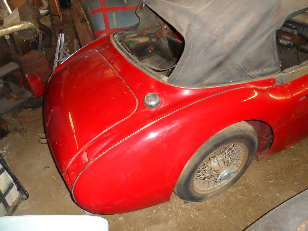 1963 Austin Healey 3000 repainted rust free car For Sale (picture 5 of 6)