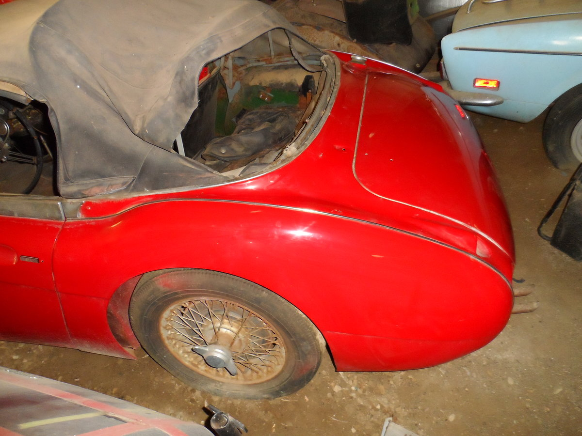1963 Austin Healey 3000 repainted rust free car For Sale (picture 6 of 6)