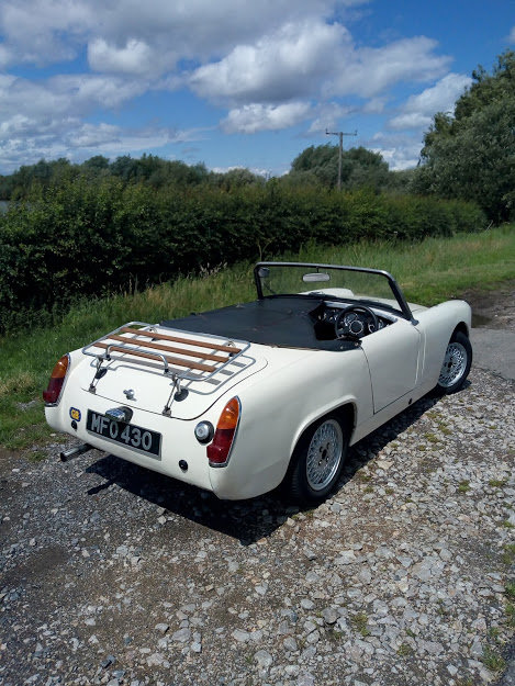 1962 Sprite MK2  now sold, thank you all that enquired For Sale (picture 2 of 6)