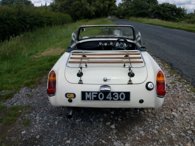 1962 Sprite MK2  now sold, thank you all that enquired For Sale (picture 6 of 6)