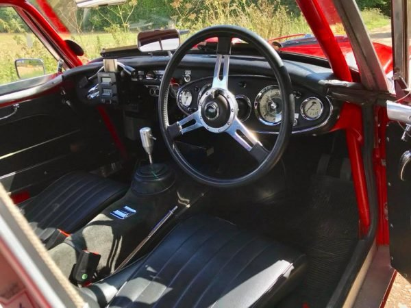 1962 Austin Healey MkII Fast road/rally car For Sale (picture 2 of 4)