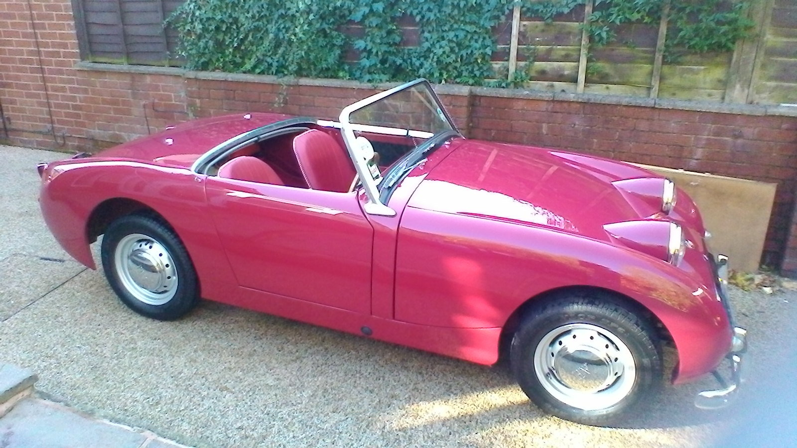 1959 Austin Healey Frogeye Sprite SOLD (picture 2 of 5)