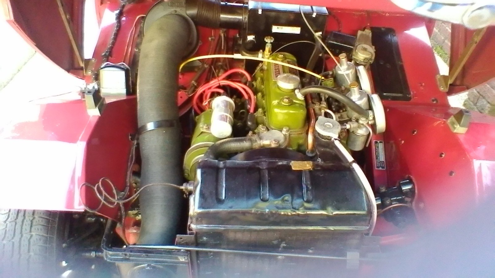 1959 Austin Healey Frogeye Sprite SOLD (picture 3 of 5)