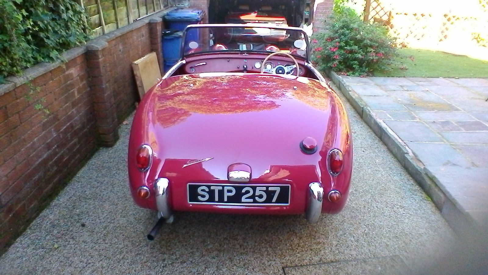 1959 Austin Healey Frogeye Sprite SOLD (picture 4 of 5)