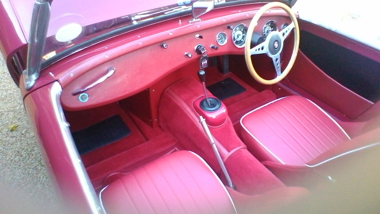 1959 Austin Healey Frogeye Sprite SOLD (picture 5 of 5)