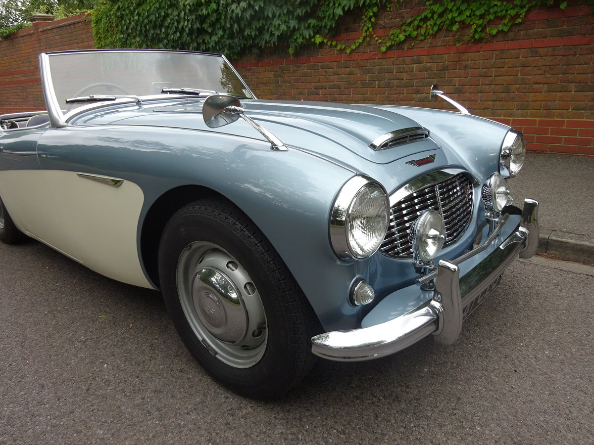 1958 AUSTIN HEALEY 100/6 BN4 For Sale (picture 2 of 6)