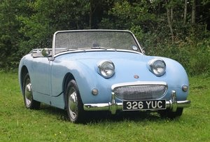 1959 Austin-Healey 'Frogeye' Sprite For Sale by Auction