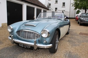 Austin Healey 100/6 1958 - To be auctioned 30-10-20