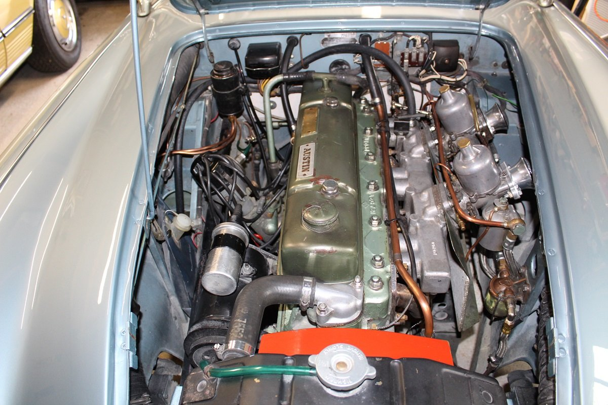 Austin Healey 100/6 1958 - To be auctioned 30-10-20 For Sale by Auction (picture 4 of 6)
