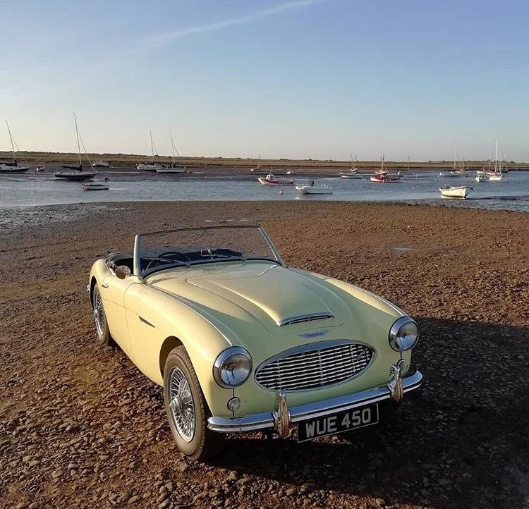 1957 Austin Healey 100/6 Original RHD For Sale (picture 1 of 6)