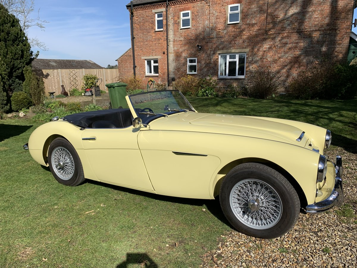 1957 Austin Healey 100/6 Original RHD For Sale (picture 3 of 6)