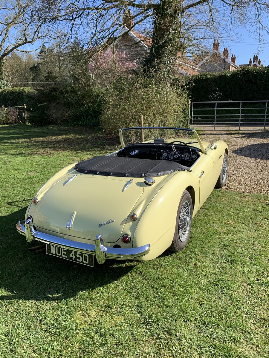 1957 Austin Healey 100/6 Original RHD For Sale (picture 5 of 6)