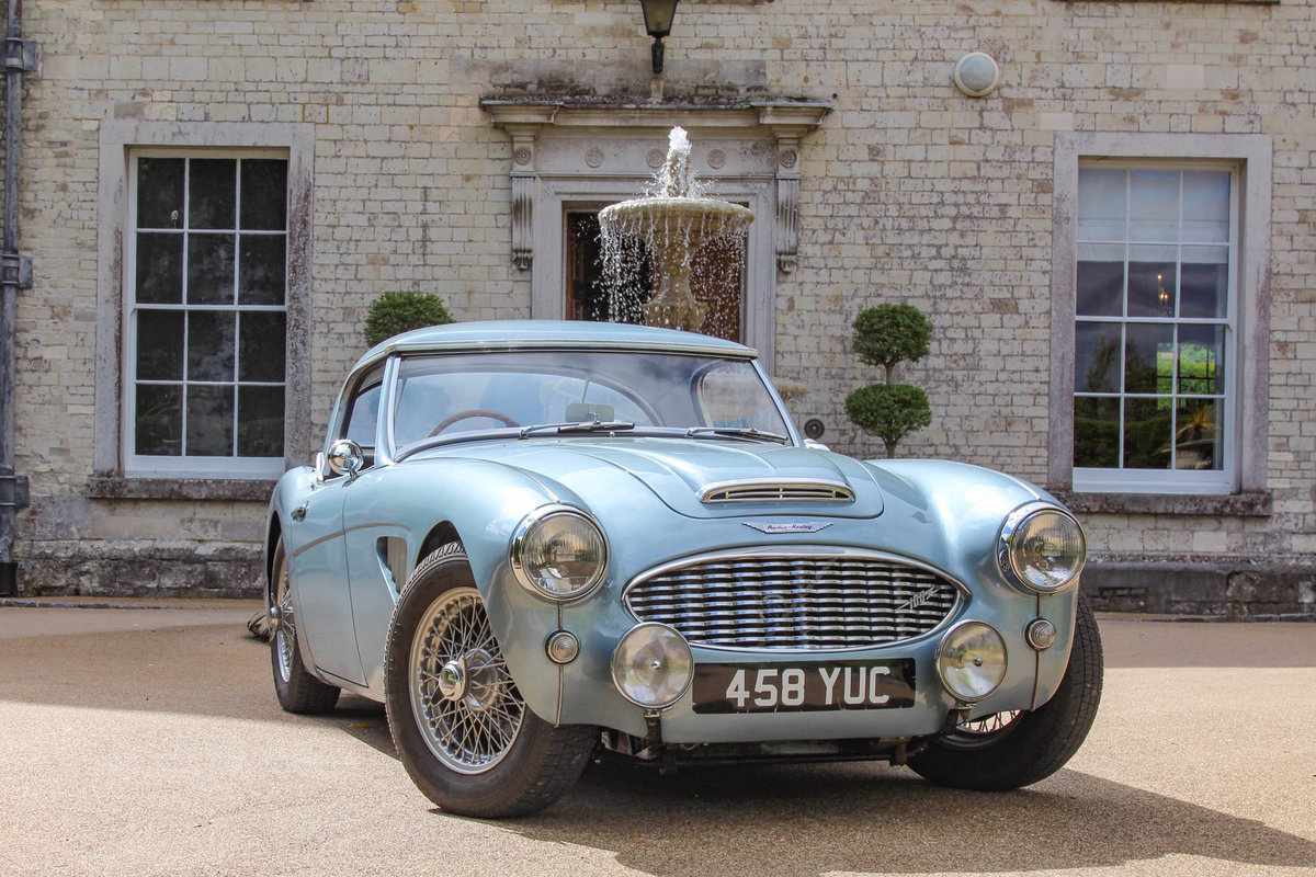 1958 Austin Healey 100/6   Factory Hardtop & Mk3 Fast Engine For Sale (picture 2 of 6)