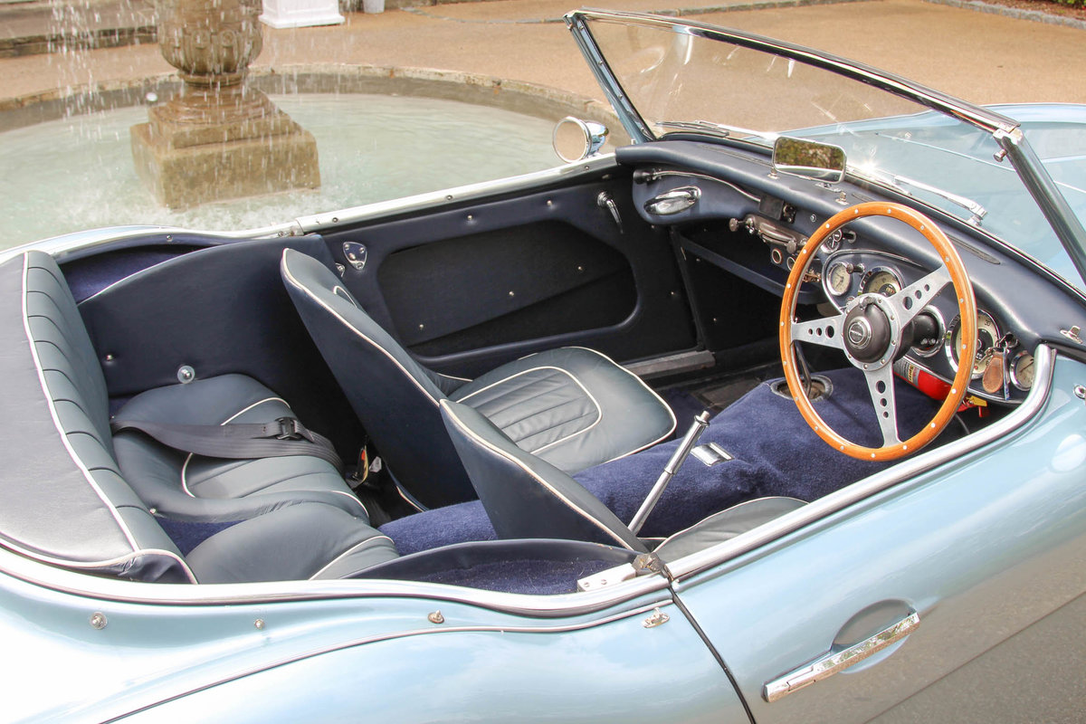 1958 Austin Healey 100/6   Factory Hardtop & Mk3 Fast Engine For Sale (picture 5 of 6)