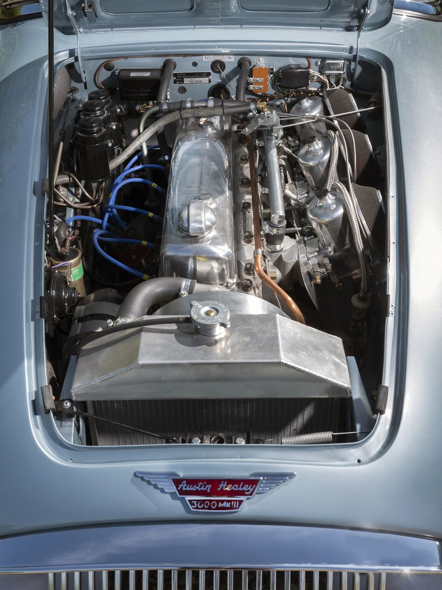 1966 Austin Healey 3000 MKIII BJ8 - JME Restored SOLD (picture 6 of 6)