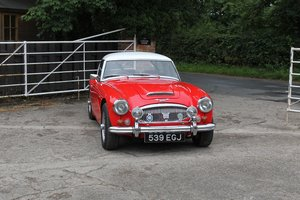 1962 Austin Healey 3000 MkIIA BJ7, 45K Spent, Racing History