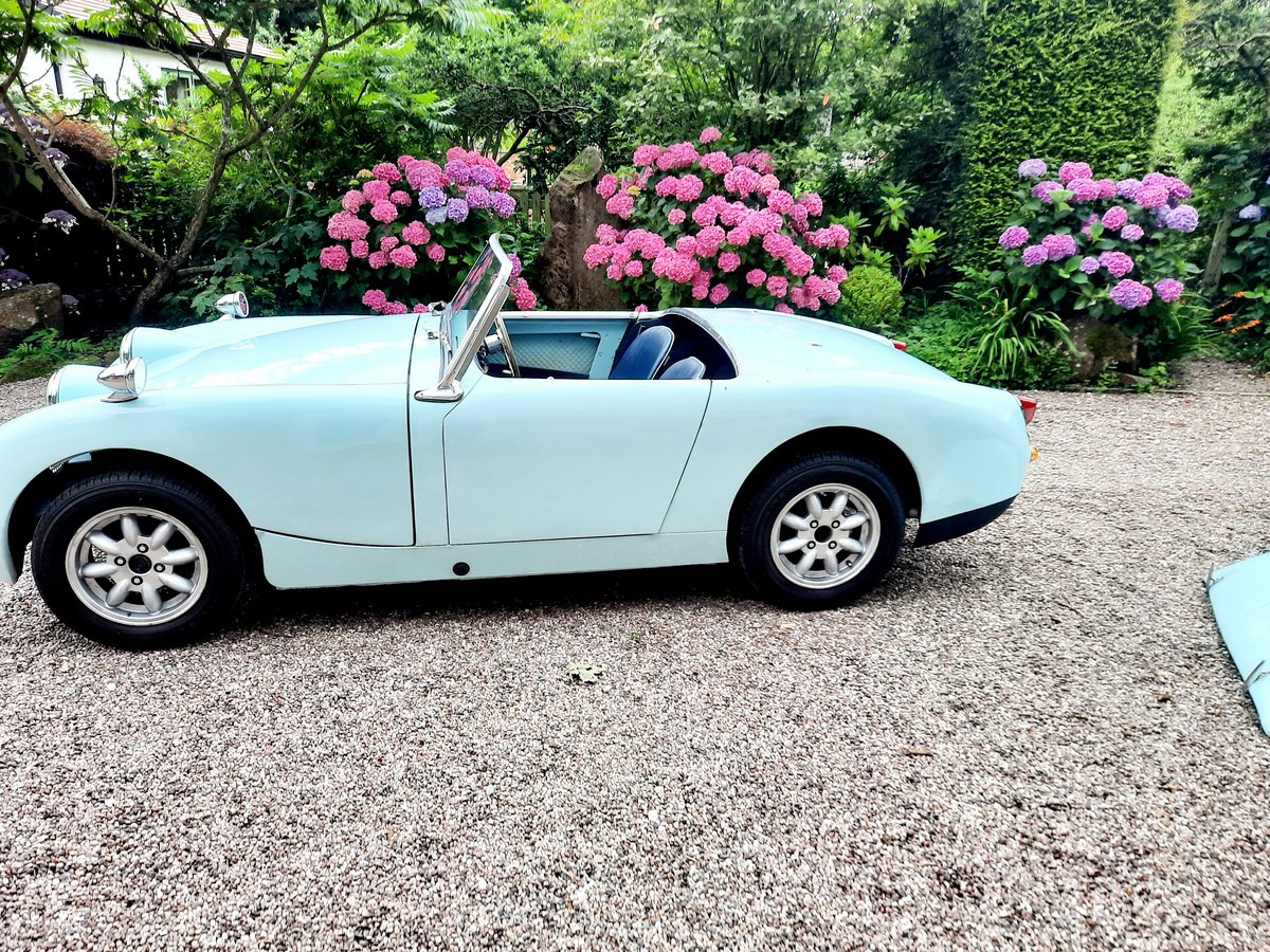 1958 frogeye sprite 2 owners   SOLD (picture 4 of 6)