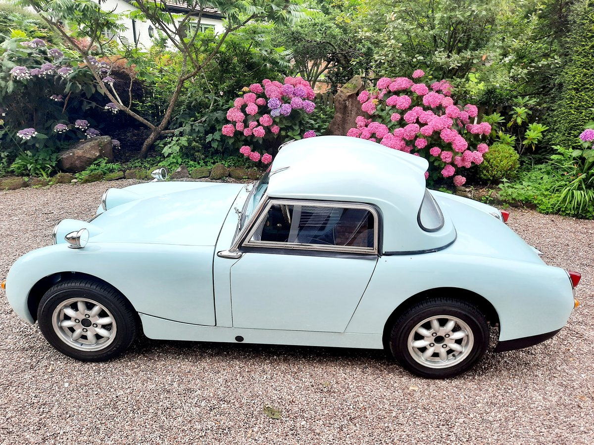 1958 frogeye sprite 2 owners   SOLD (picture 5 of 6)