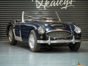 1961 Austin Healey 3000 MKII BT7 UK RHD Restoration Project SOLD