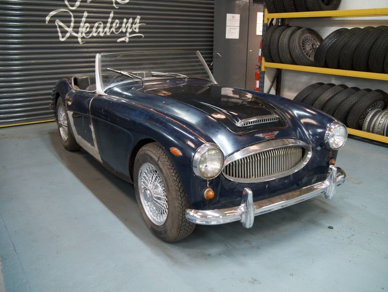 1961 Austin Healey 3000 MKII BT7 UK RHD Restoration Project For Sale (picture 3 of 6)