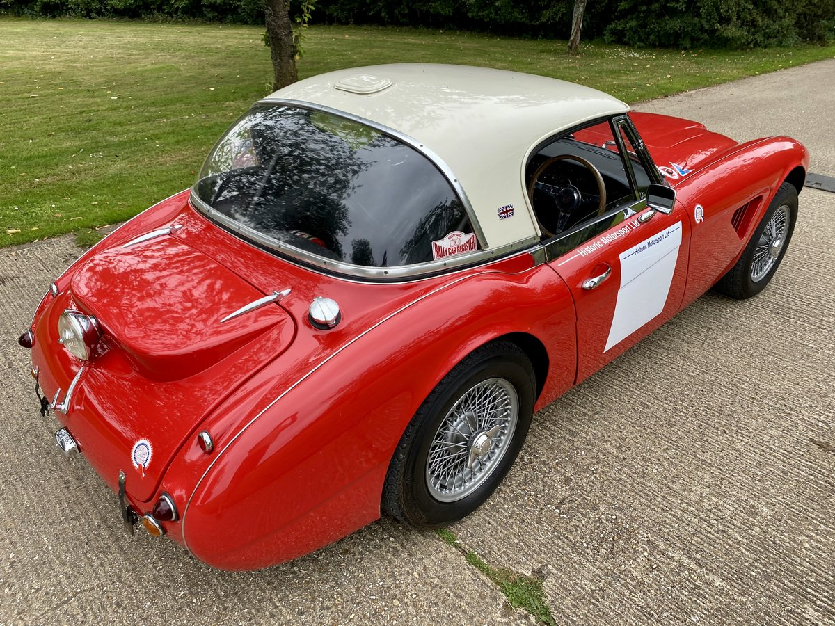 1965 Austin Healey 3000 Mk III Works Replica Rally Car For Sale (picture 2 of 6)