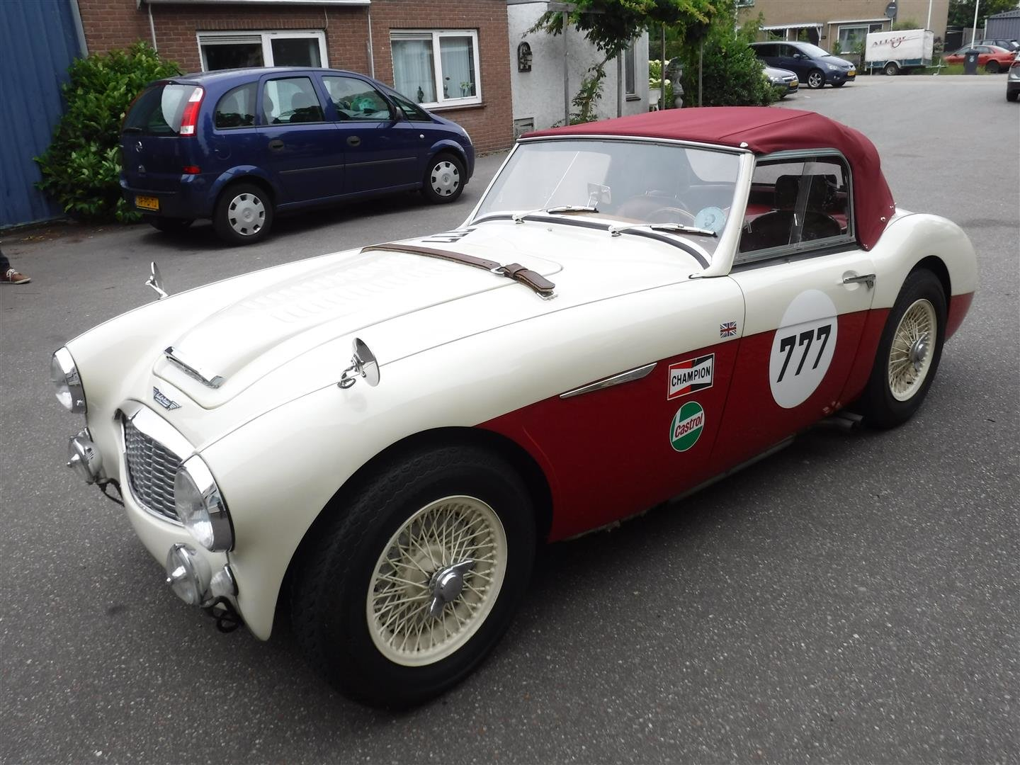 Austin Healey 100 / 6 rallye  6 cil.  2639cc  1957 For Sale (picture 2 of 6)