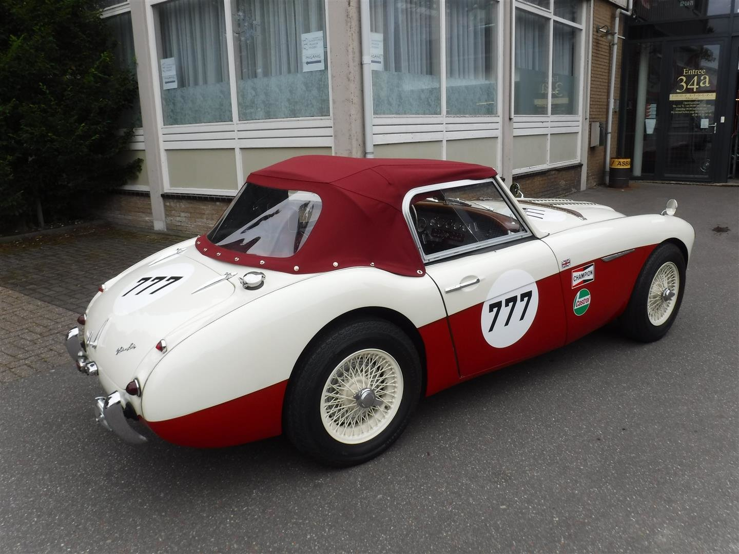 Austin Healey 100 / 6 rallye  6 cil.  2639cc  1957 For Sale (picture 5 of 6)