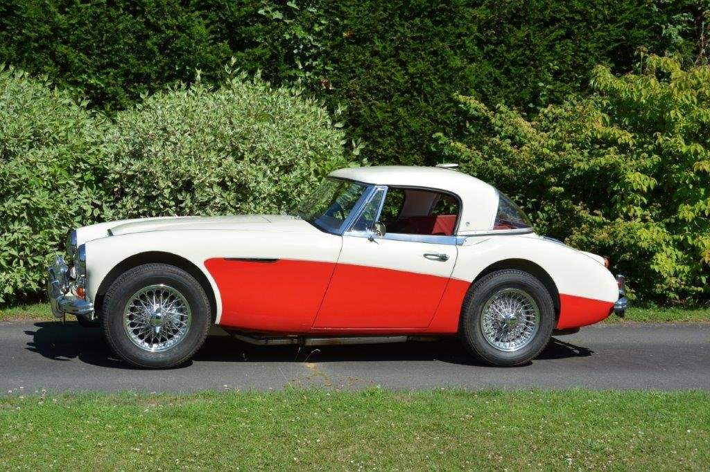 1966 Exceptional Healey 3000 MK3 BJ8 Famous history For Sale (picture 1 of 6)