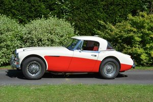 1966 Exceptional Healey 3000 MK3 BJ8 Famous history