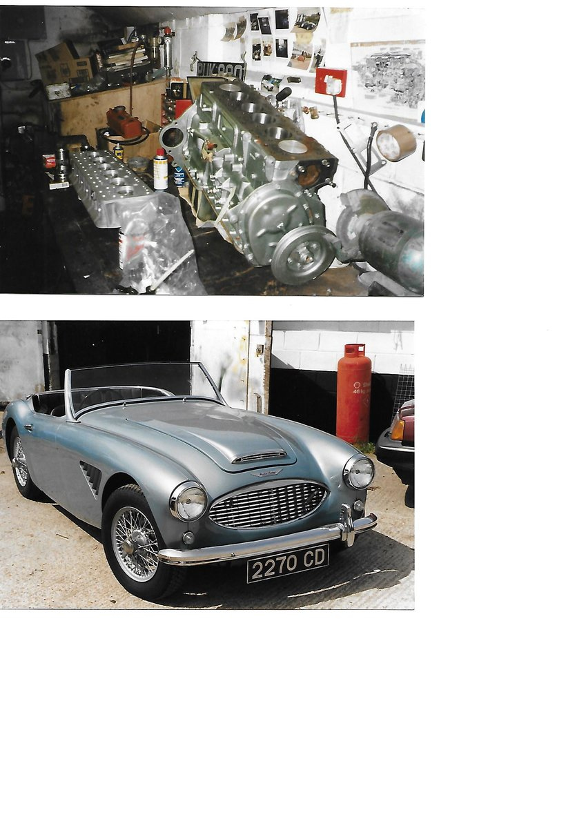 1960 Austin Healey 3000 BT7 For Sale (picture 5 of 6)