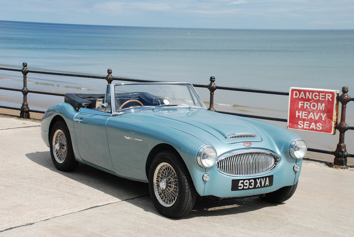 1962 Austin Healey 3000 Mk 2a BJ7 For Sale (picture 1 of 10)