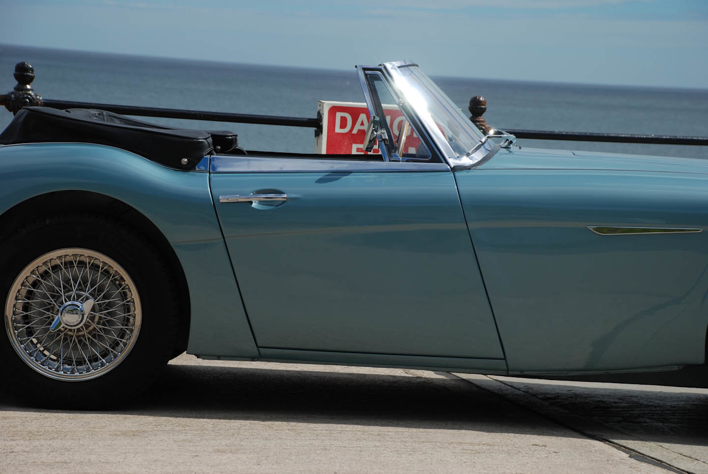 1962 Austin Healey 3000 Mk 2a BJ7 For Sale (picture 2 of 10)