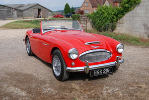 1961 Austin-Healey 3000 MkII Tri-carb, Rare, History For Sale