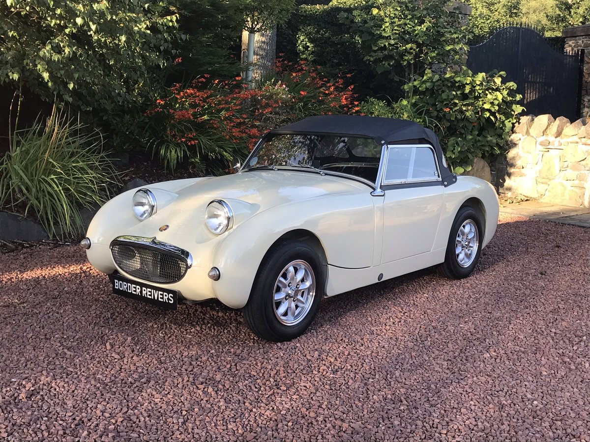 1959 Austin Healey Sprite MK1 Frogeye fantastic condition SOLD (picture 1 of 6)