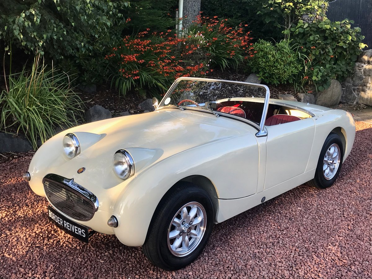 1959 Austin Healey Sprite MK1 Frogeye fantastic condition SOLD (picture 2 of 6)