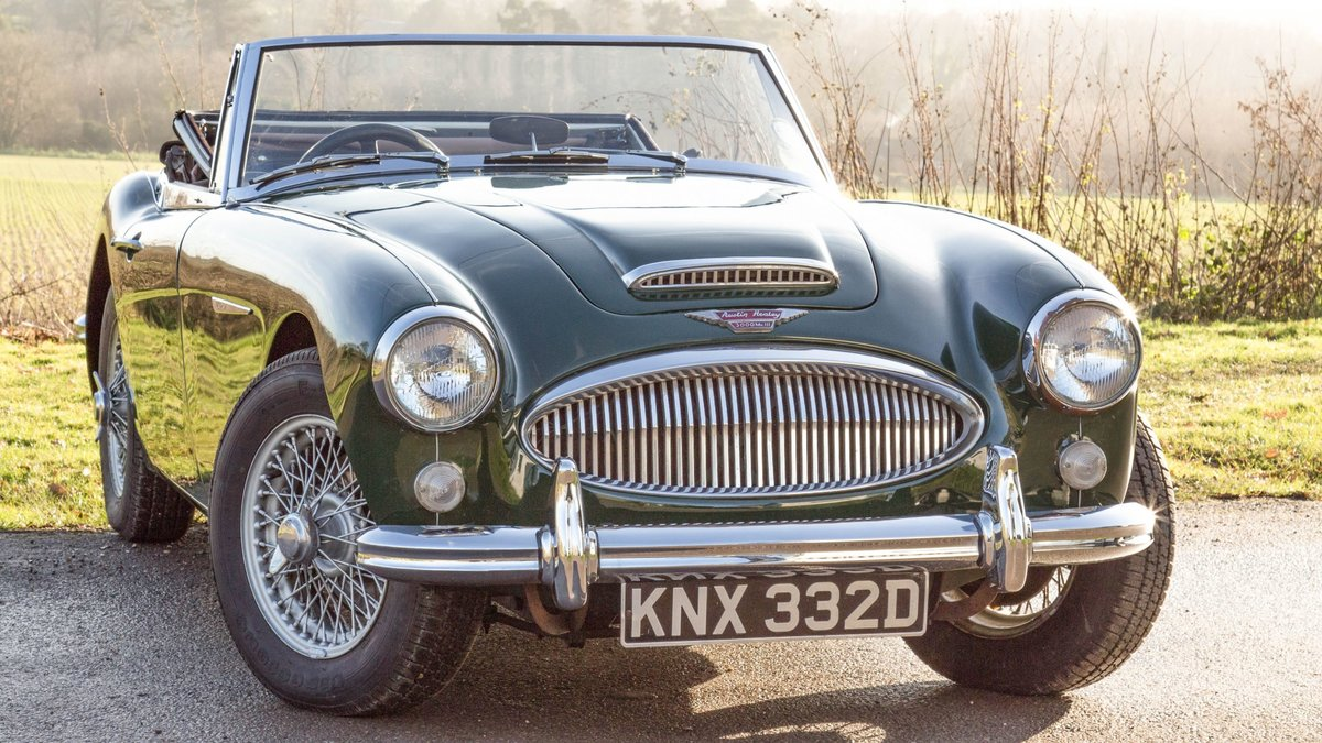 1966 The Austin Healey 3000 MkIII Phase II Pre-Production Prototy For Sale (picture 2 of 4)