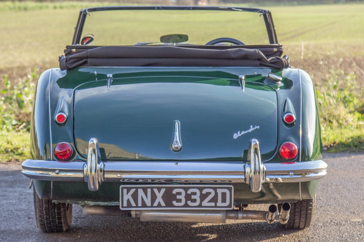 1966 The Austin Healey 3000 MkIII Phase II Pre-Production Prototy For Sale (picture 4 of 4)