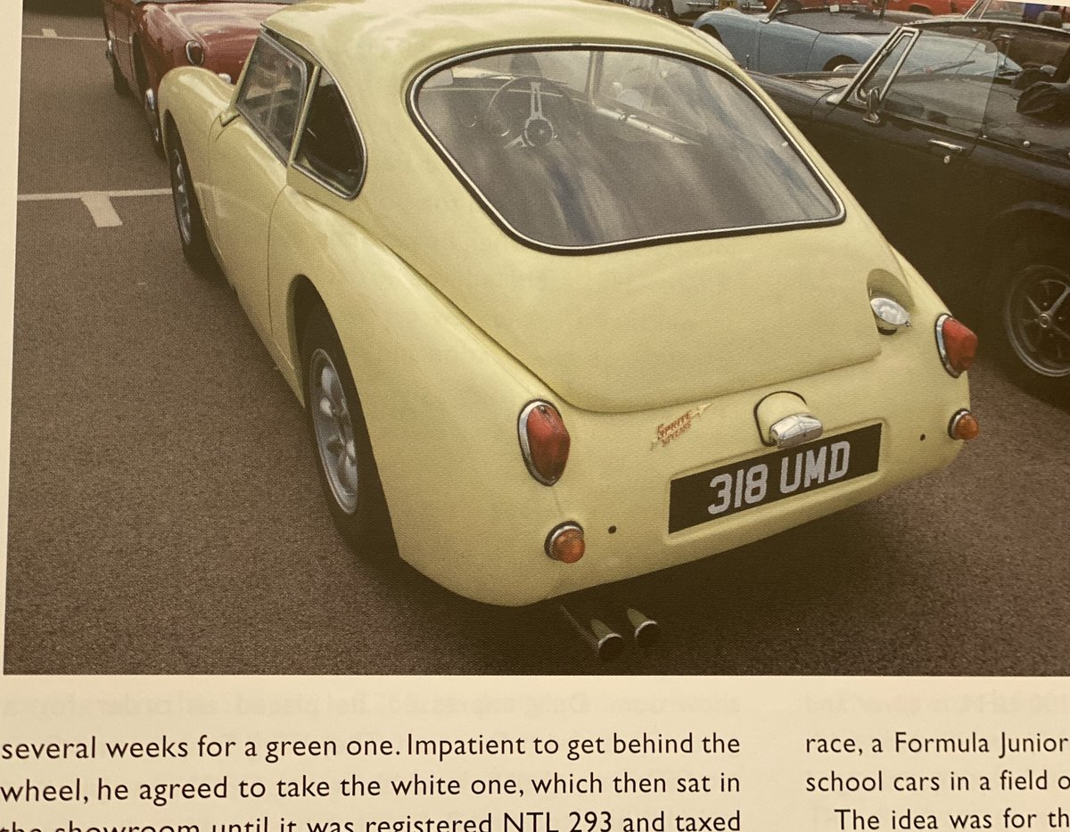 1959 Austin Healey Sprite Ashley GT - 2 owners from new SOLD (picture 6 of 8)