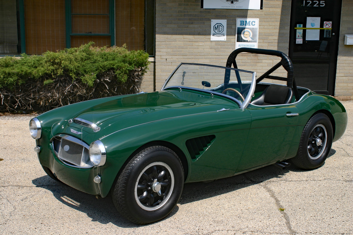 1960 Austin Healey 3000 MK1 Race/Rallye For Sale (picture 2 of 6)