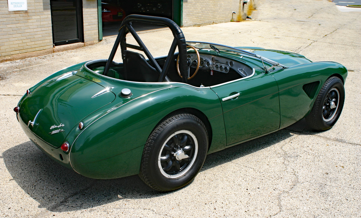 1960 Austin Healey 3000 MK1 Race/Rallye For Sale (picture 4 of 6)
