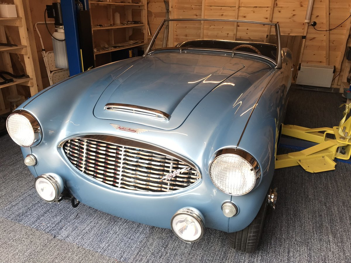 1959 Austin Healey 3000 Mk1 Ground Up Restoration For Sale (picture 1 of 6)