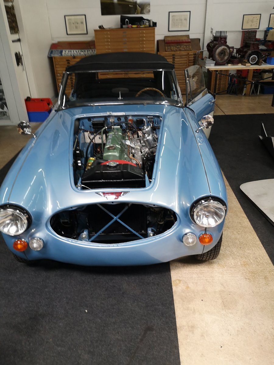 1965 Austin Healey 3000 MK III Cabrio  Fully  Restored For Sale (picture 3 of 6)